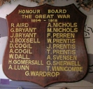 Rosemount Honour Board