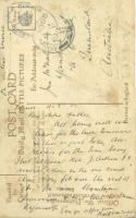 McNAB R postcard to father